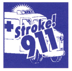 picture representing 9-1-1 stroke emergency call